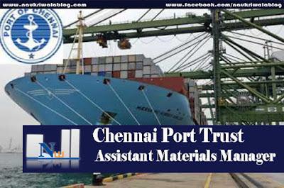 Assistant Materials Manager  Job 2015