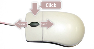 5 Fungsi Klik Scroll Mouse