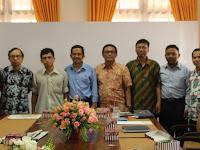 Penulis IAIN Antasari dikunjungi ketua PWI