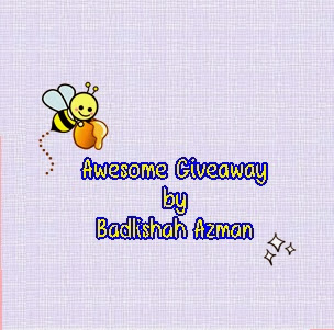 Awesome Giveaway by Badlishah Azman