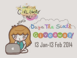 Daya The Sixth s Giveaway