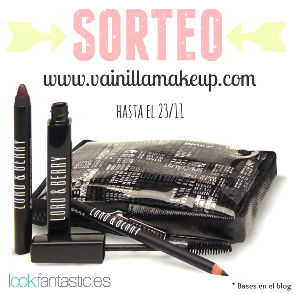Sorteo set de maquillaje lord berry - Lookfantastic espana ...