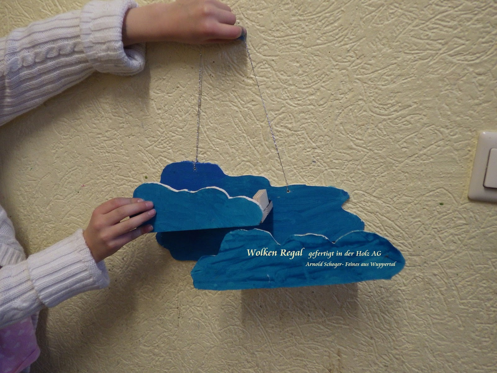 Laubsäge Ideen Für Kinder Ein Wolken Regal Laubsägen Und