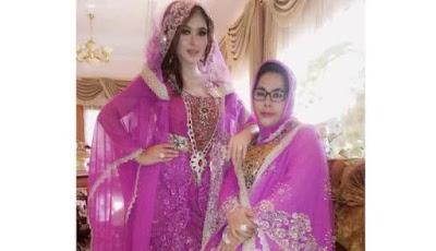 Cantiknya Syahrini dibalut Busana Muslim Saat Menyambut Bulan Ramadan