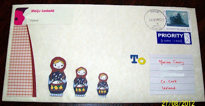 thats the way the cookie crumbles, blog, blogging, snail mail, mail, post, package, penpal, letter, incoming, mail art, russian dolls