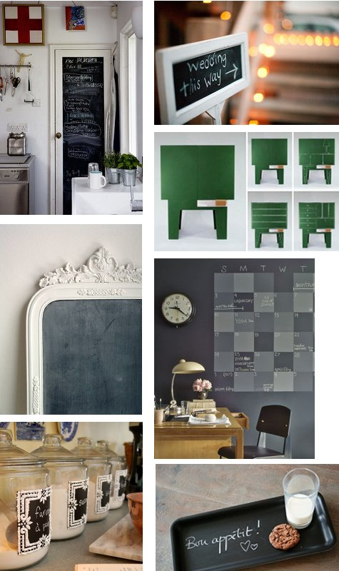 DIY chalkboard paint ideas you'll want to make right now. I love using chalkboard paint to create unique home decor pieces. It's so easy to personalize upcycled bottles or makeover furniture and other home objects with chalkboard paint. In fact the possibility of DIY chalk board ideas are seemingly endless.