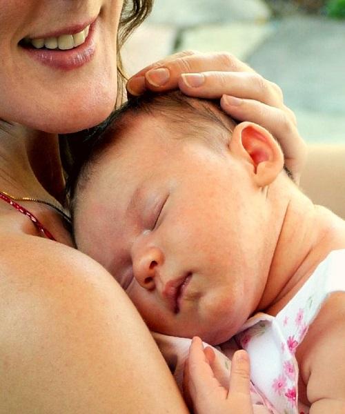 Photo bébé et maman