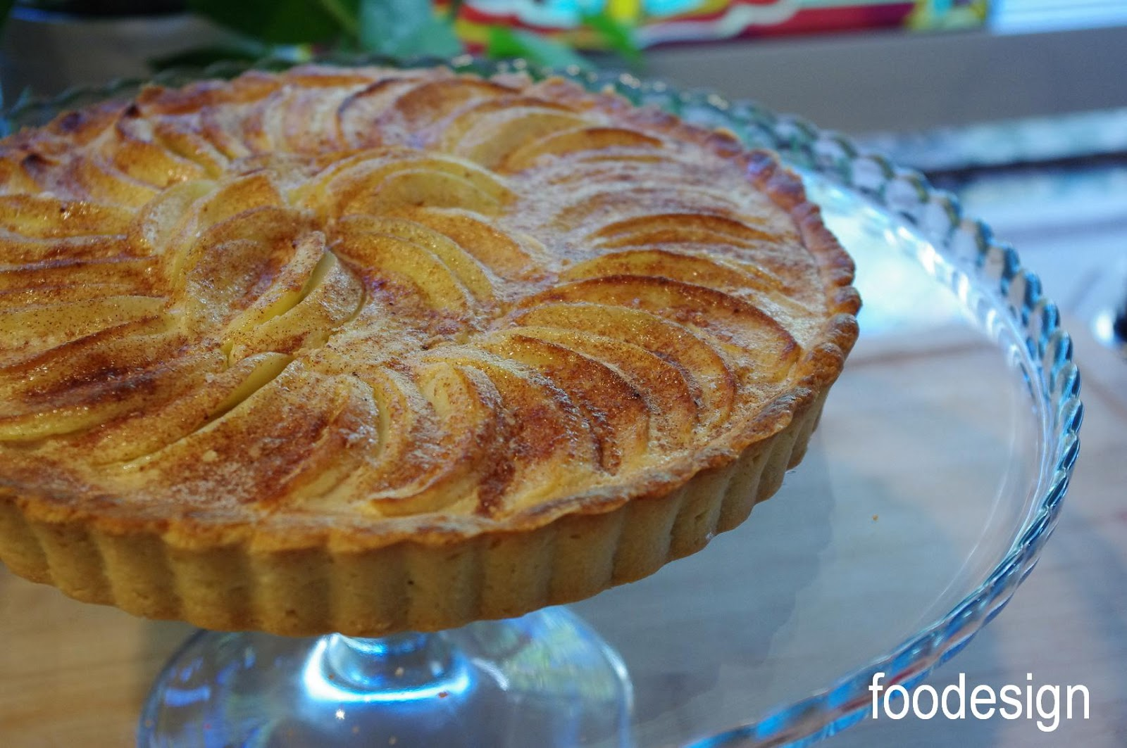 Custard Apple Tart Recipe — Dishmaps