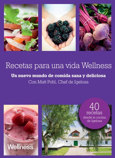 LIBRO DE RECETAS WELLNESS ORIFLAME