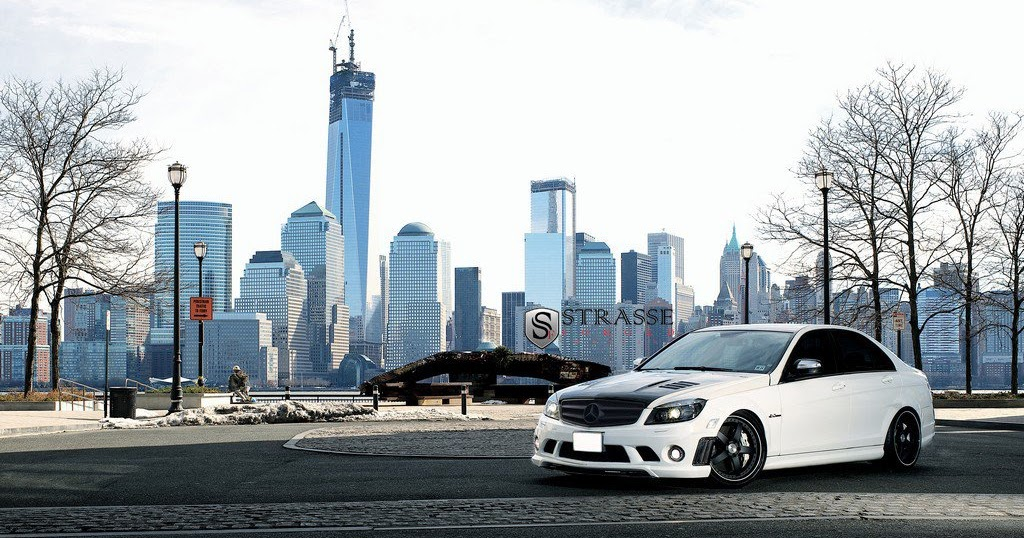 all cars new zealand mercedes benz c63 amg by strasse forged. Black Bedroom Furniture Sets. Home Design Ideas