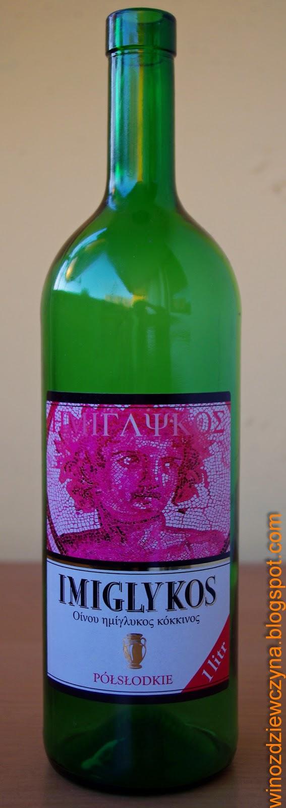 greckie wino półsłodkie