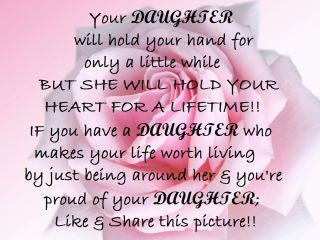 she made me see the world in brand new light todays quote are some inspirational quotes about daughters enjoy