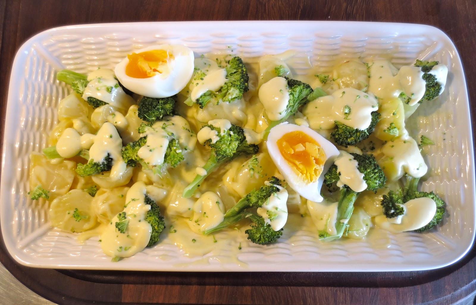 Mamuchi en la cocina ensalada de patata y brocoli al vapor y en microondas - Cocina al vapor microondas ...