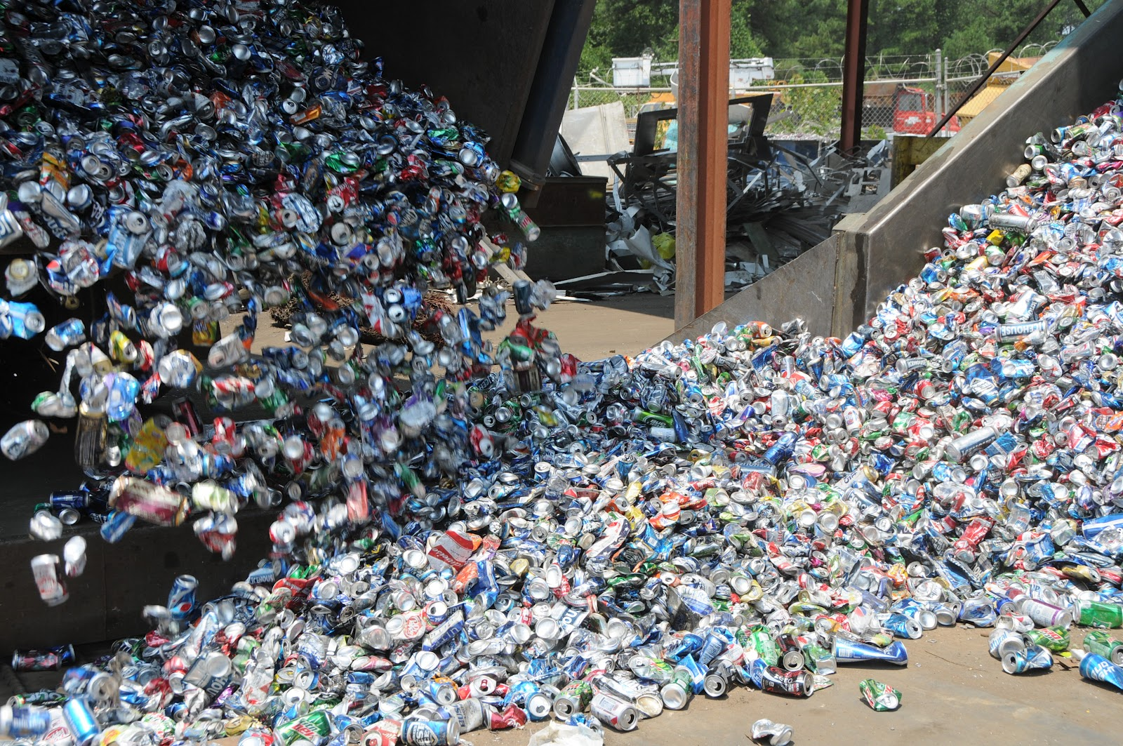 Aluminum Cans and Scrap Metal Recycling in NC | NC Prices Copper Al ...