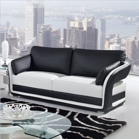 White Sofa Black And White Sofa