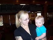 Toni  21 with her son Rylee