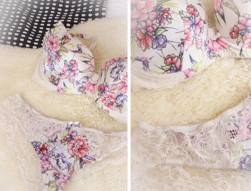 Rosie Huntington-Whiteley x M&S Floral Bra Set