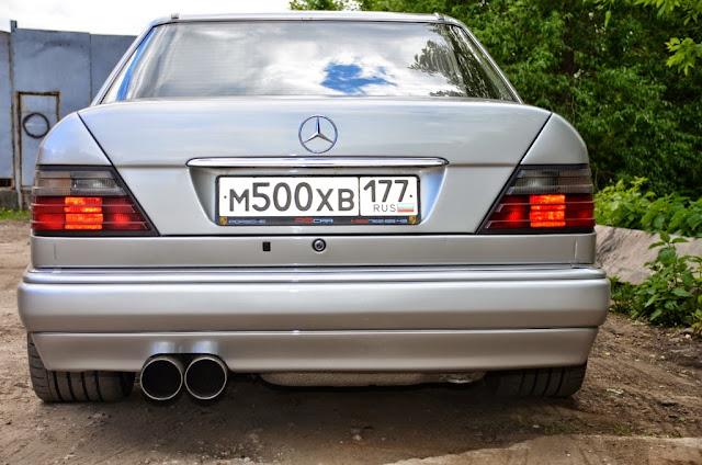 e500 exhaust