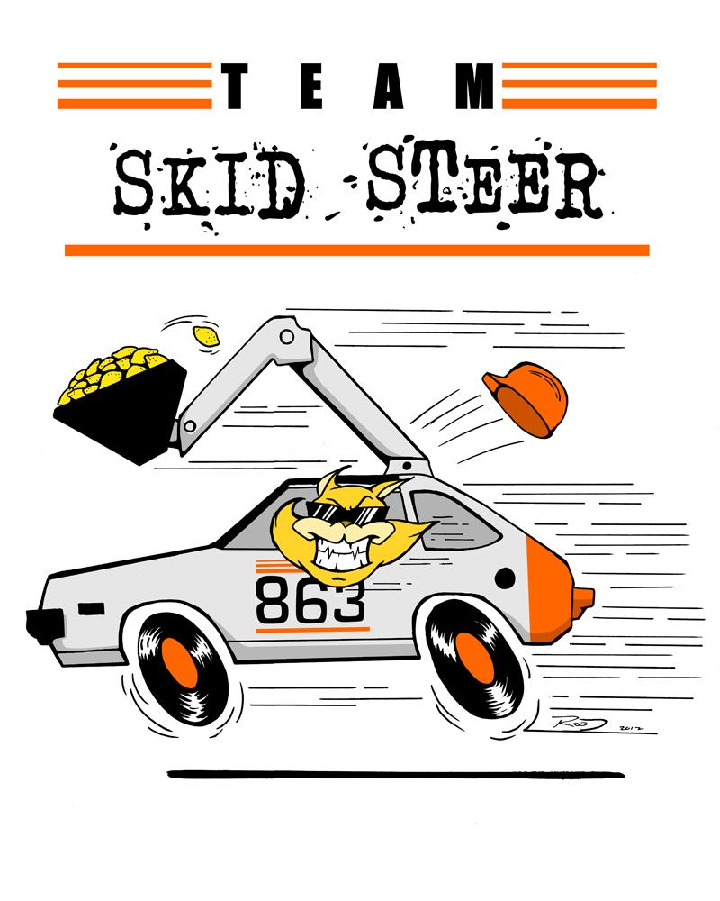 Skid Steer Logo Show Steer Logo Clipart