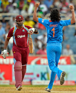 Ishant-Sharma-Kieron-Pollard-West-Indies-vs-India-Tri-Series-2013