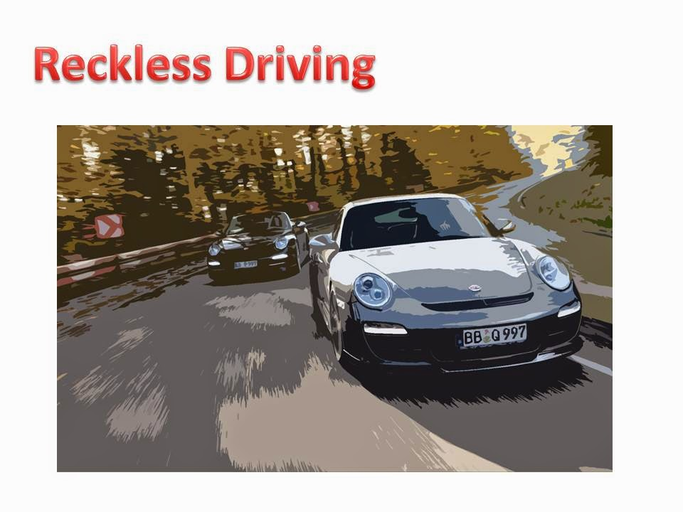 """article on reckless driving in 150 words Article on reckless driving in 150 words many of those deaths are directly attributable to reckless drivers"""" ("""" )reckless driving is a very serious driving violation."""