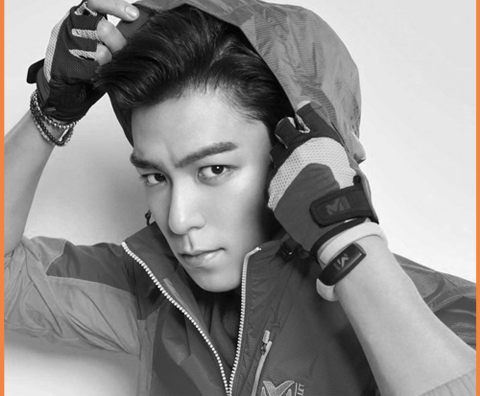 TOP from Big Bang, Sport Products by Millet Korea