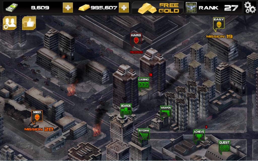 dead target unlimited money and gold mod apk | joker software full ...