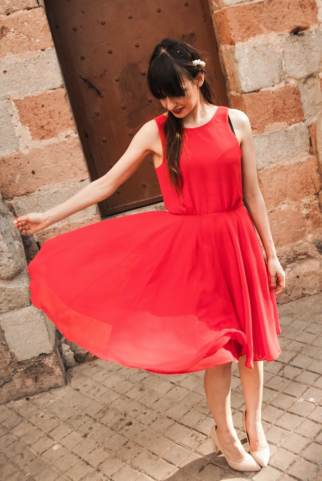 red-dress-french-connection