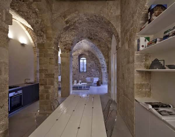 Historical Stone House Design Blend By Contemporary