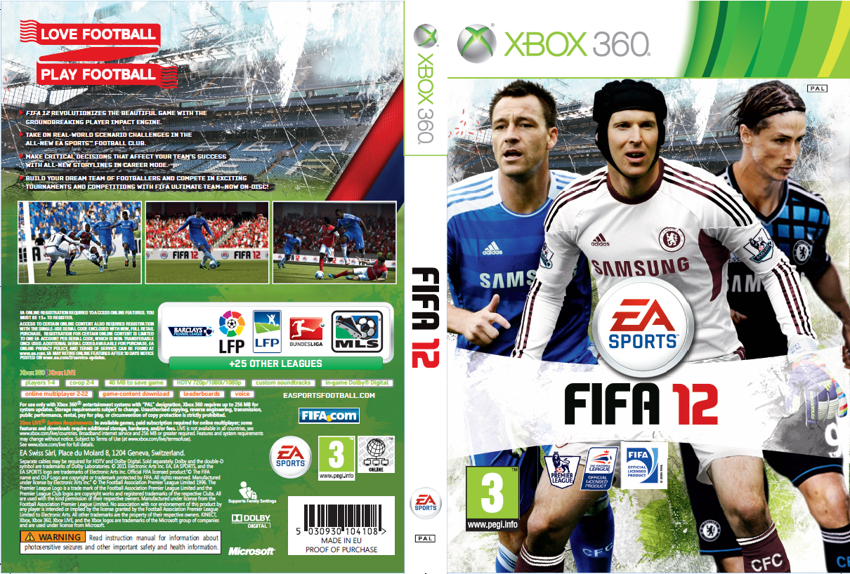 Download FIFA 12 Chelsea FC Cover