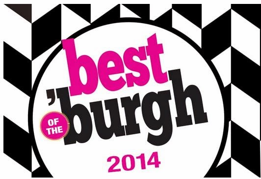 "ONE OF PITTSBURGH MAGAZINE'S ""BEST OF THE BURGH"" 2014"