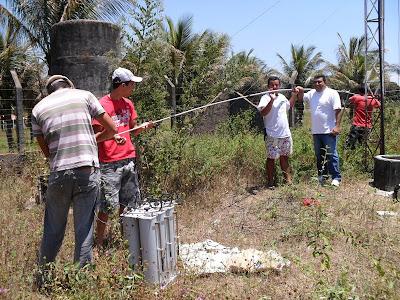 Instalação da 1ª Repetidora de VHF de Viçosa do Ceará