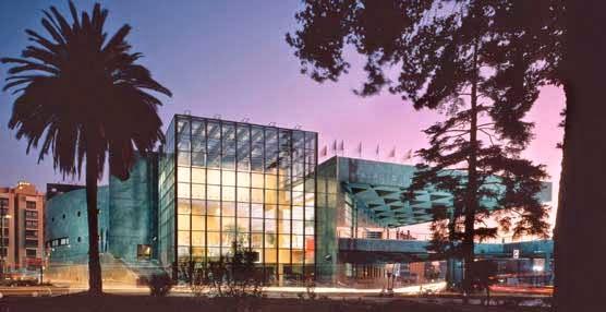 Palacio de Congresos de Granada. Lugar de ceremonias de los Jóvenes Empresarios