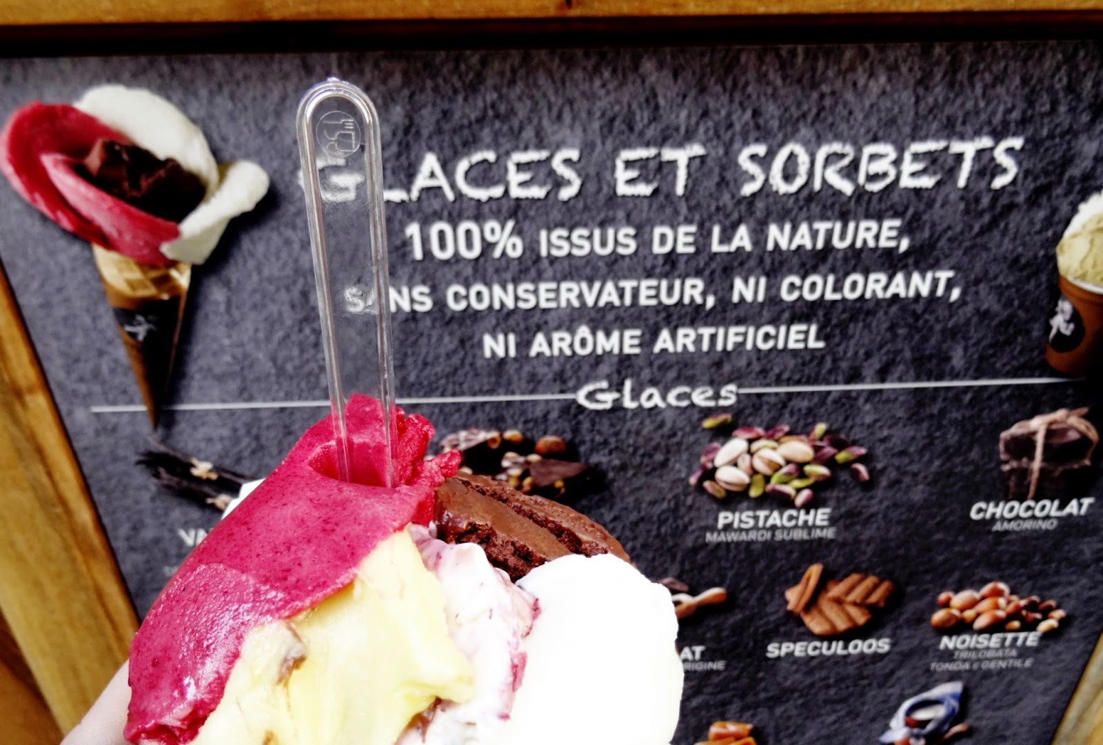 Das beste Eis von Paris - auch vegan: Amorino im Marais