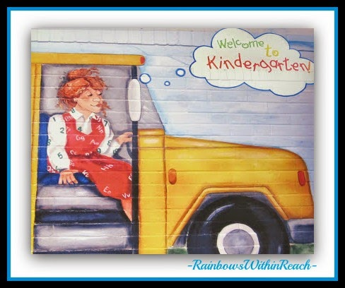 Hand Painted School Bus Mural via RainbowsWithinReach