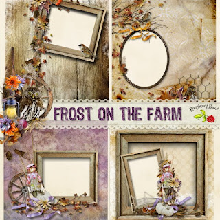 Frost On The Farm Freebie Cluster