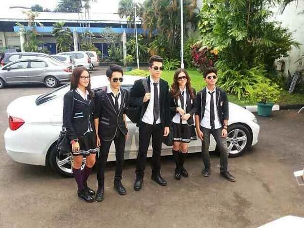 Kumpulan Foto Terbaru dari Pemain Sinetron Ganteng Ganteng Serigala (GGS)