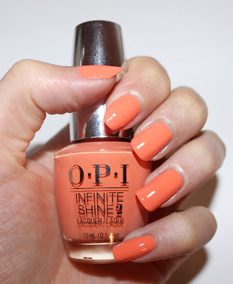 OPI Infinite Shine in The Sun Never Sets