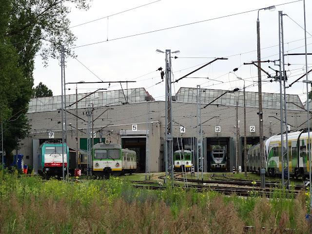 Lokomotywownia Grochów Kolei Mazowieckich