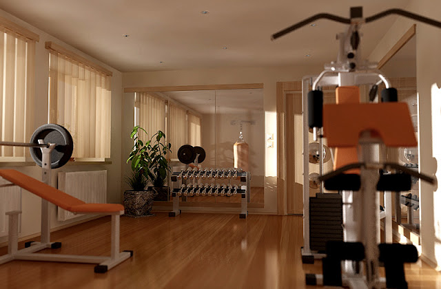 Rachel Olsen: Home Gym Workout Spaces