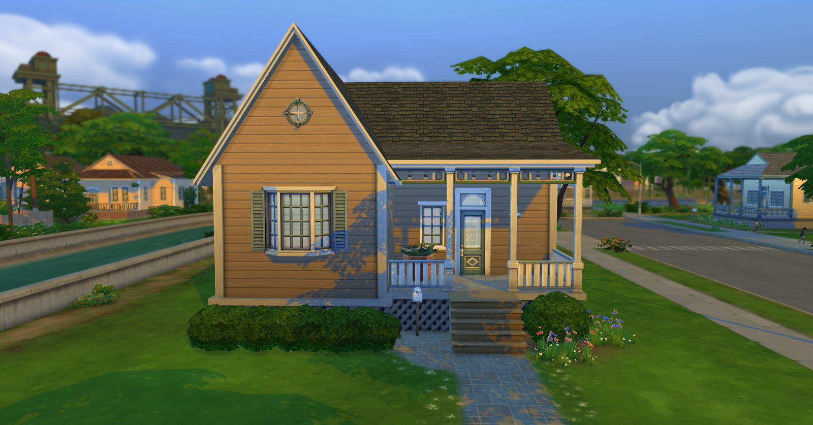 Simply ruthless cheap and cozy 2 bedroom starter for Cheap 2 bedroom house