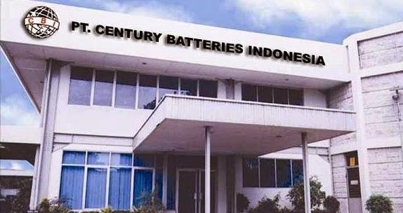 Lowongan Kerja PT Century Batteries Indonesia (CBI) Terbaru