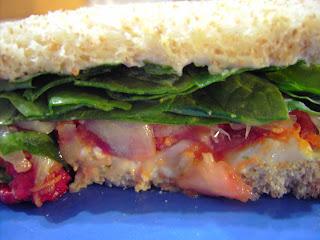 dentro sandwich