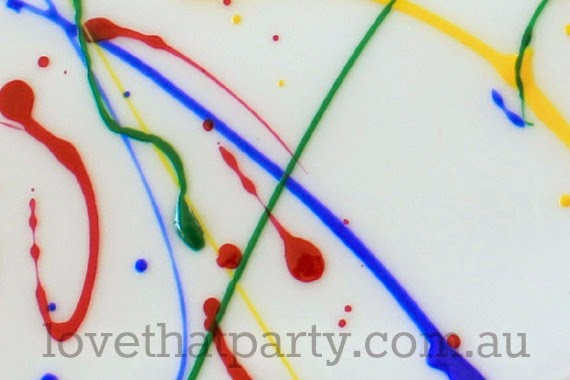Art party ideas, art party decorations, kids activites, party ideas, diy, tutorials, party decorations, kids party ideas