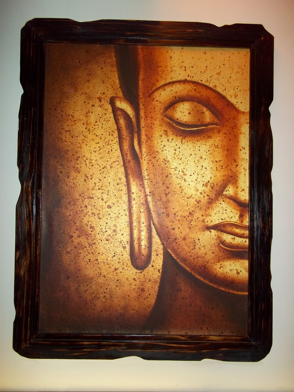 Creating Artistically: Buddhist inspired home decor