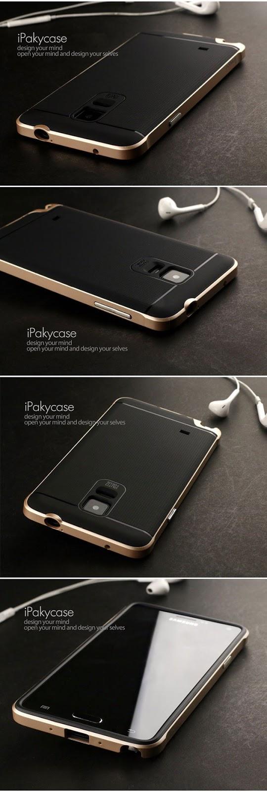 เคส Note 4 สไตล์ไฮบริดของแท้ 131004 สีทอง