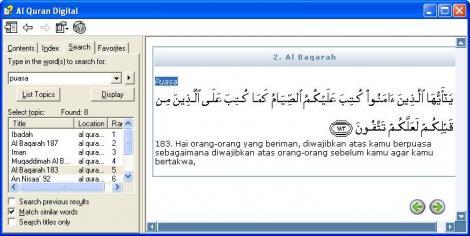 Software Al Quran Terjemahan Gratis