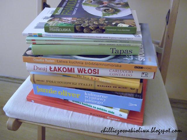Moje książki o kuchni śródziemnomorskiej