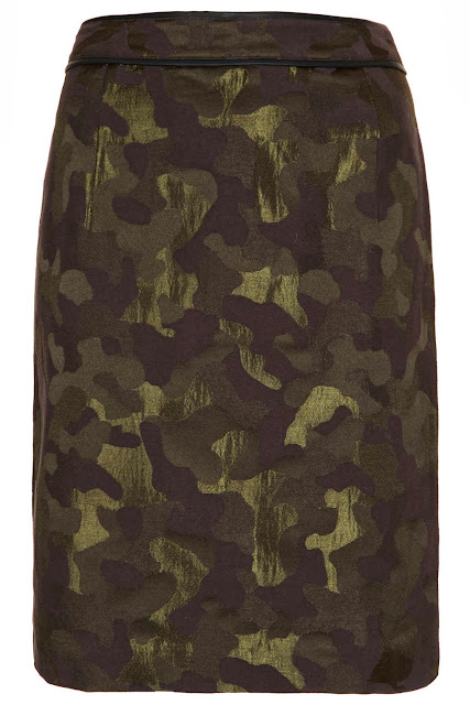 camouflage skirt
