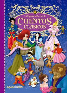 libros infantiles; cuentos clásicos de disney